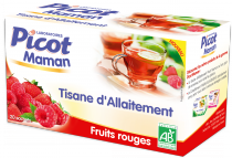 Picot - Tisane d'allaitement fruits rouges 20 sachets